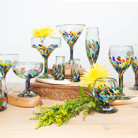 Brandy Glass - Colorful