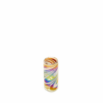 Tall Shot Glass - Tropical Swirl