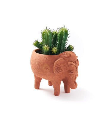 Terracotta Plant Pal - Elephant