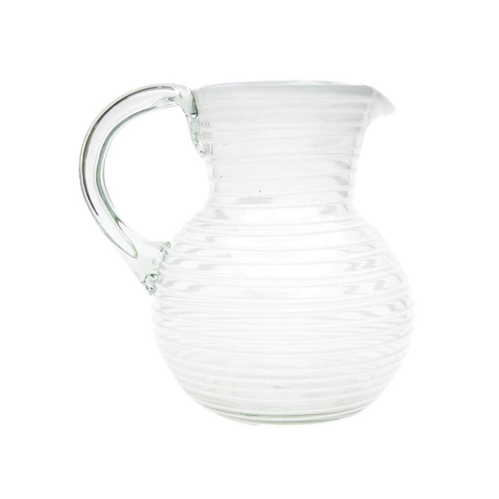 Striped Iced Tea Pitcher