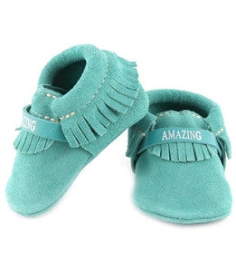 Inspire Moccasins - Teal (Amazing)