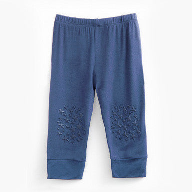 Crawling Pants - Navy Blue - Blueberry Baby