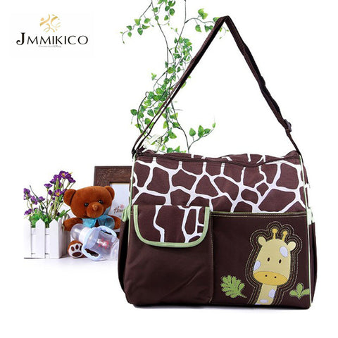 2016 Summer Style Animal Baby Diaper Bag Mummy Nappy Zebra Or Giraffe Babyboom Multifunctional Fashion Infanticipate Shoulder