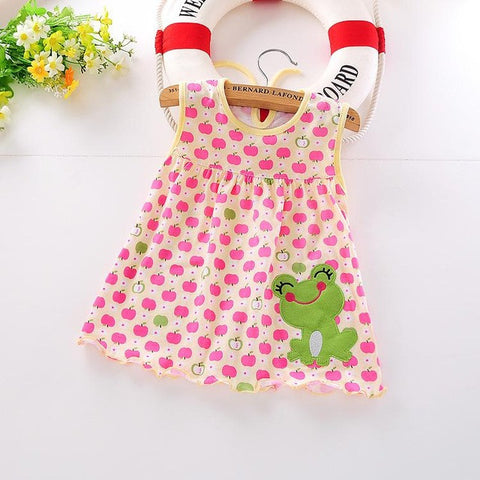 3d70e75e3098 Top Quality Baby Dresses 2017 Princess 0-1years Girls Dress Cotton Clothing  Dress Summer Girls