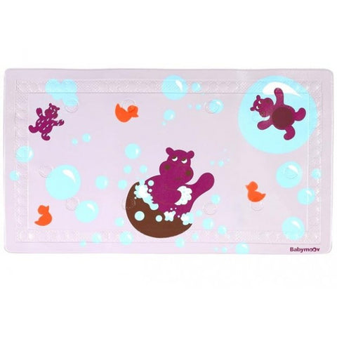 Bathmat With Thermometer - Hippo