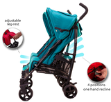 Baby Stroller - Twice Double - Red
