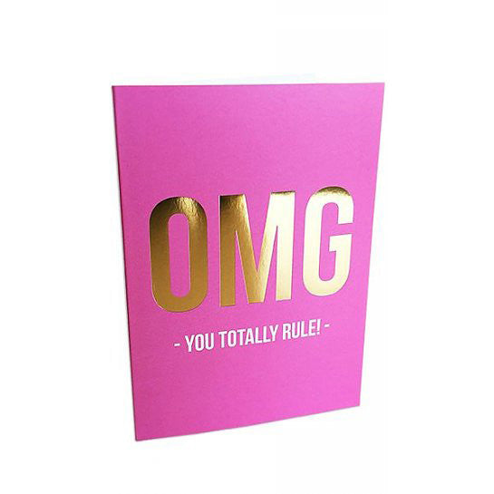 GREETING CARD YOU RULE