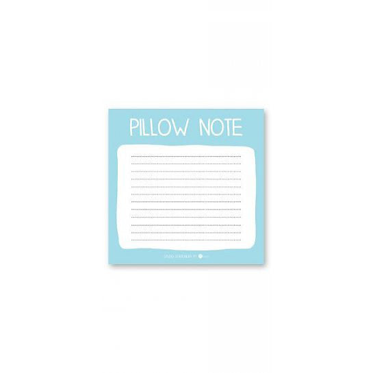 PILLOW NOTES