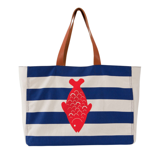 RED FISH BEACH BAG