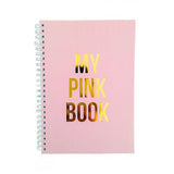 NOTEBOOK MY PINK BOOK