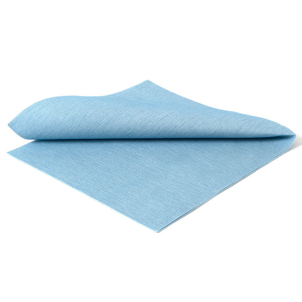 DELUXE CLASSIC CHAMRAY BLUE - 20 NAPKINS PACK