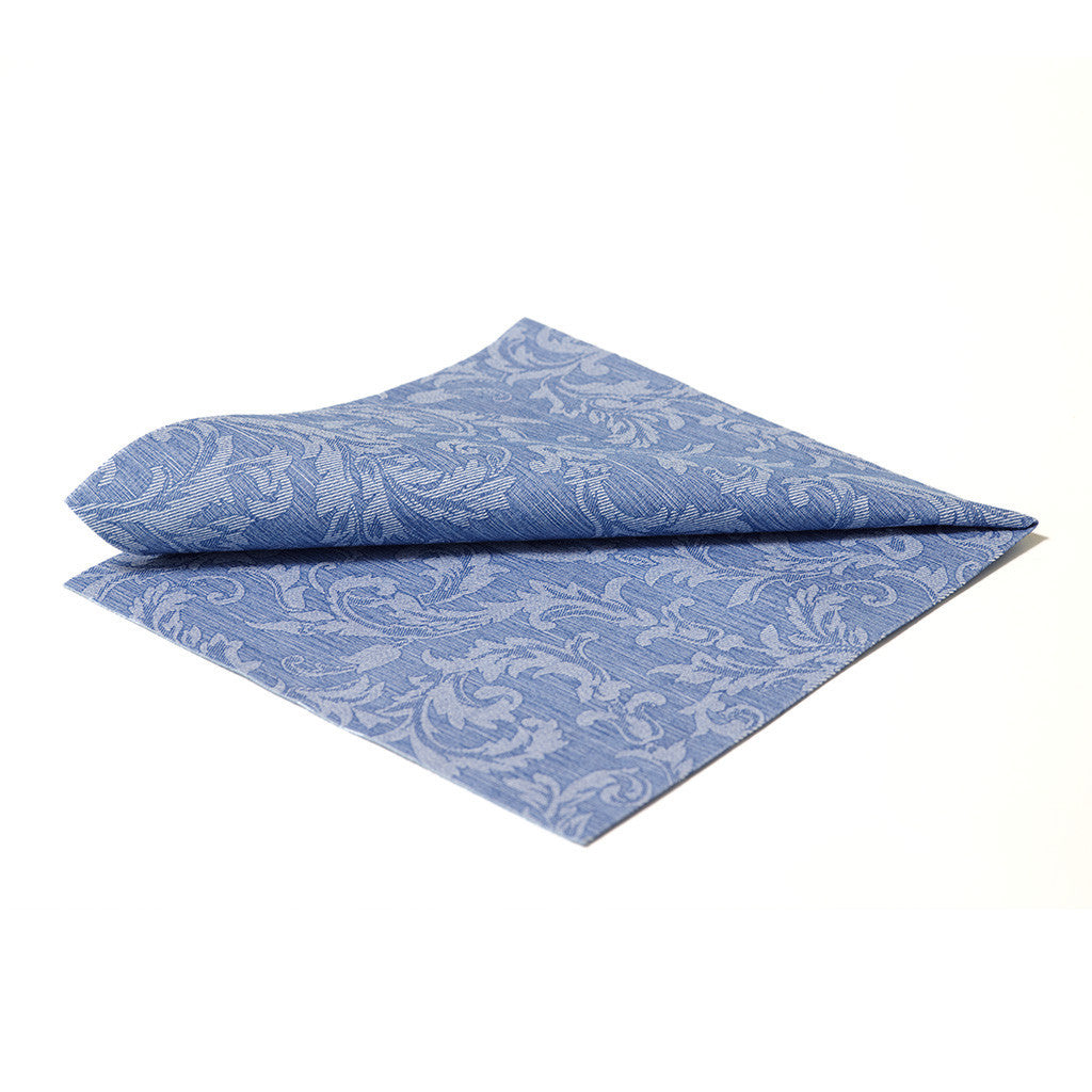 DELUXE CLASSIC FLORAL BLUE - 20 NAPKINS PACK
