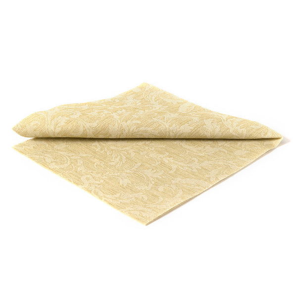 DELUXE CLASSIC FLORAL GOLDEN - 20 NAPKINS PACK