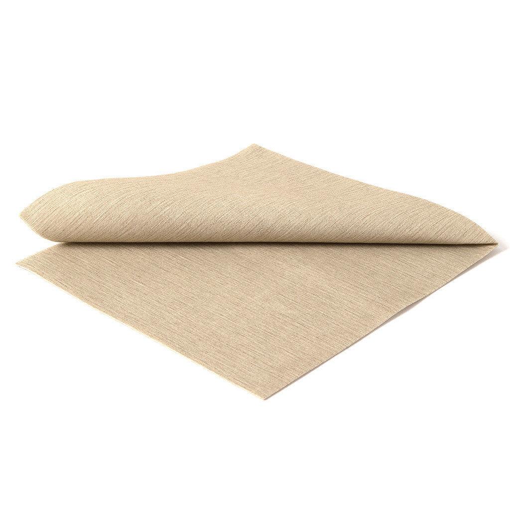 DELUXE CLASSIC TAUPE - 20 NAPKINS PACK