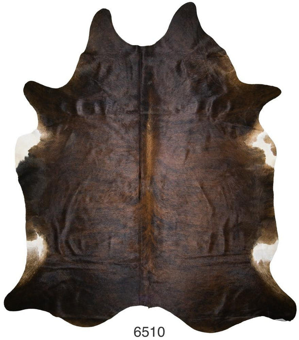 Brindle Brazilian Hair on Cowhide (Large)