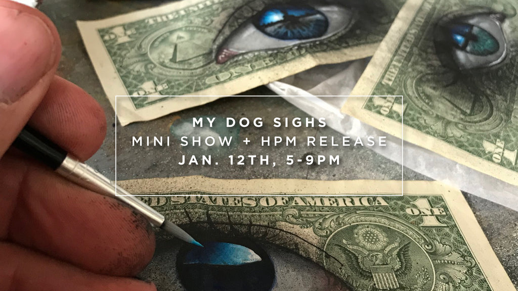 MINI SHOW<BR>MY DOG SIGHS | 1/12/2019