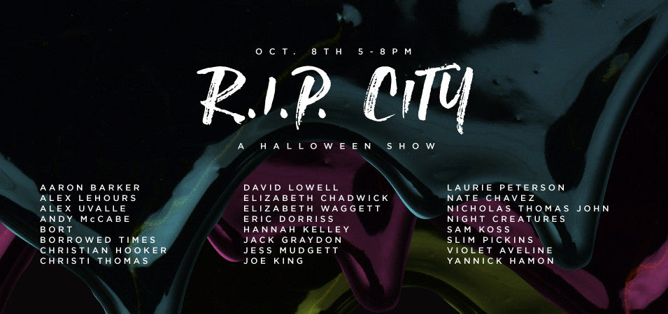 R.I.P. City Halloween Show