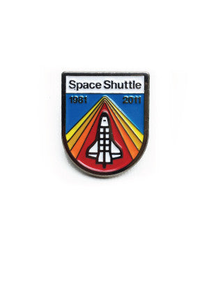 Space Shuttle Tribute Pin