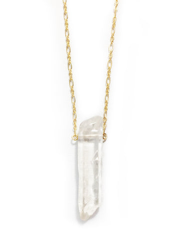 Standing Crystal Necklace