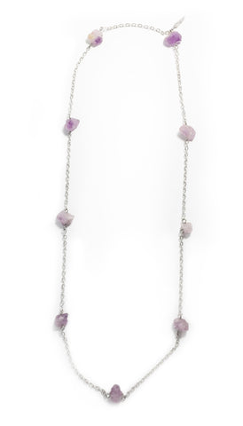 Strands of Amethyst Necklace