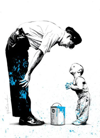 Mr. Brainwash<br>Not Guilty Blue