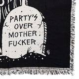 Sketchy Tank<br>Party's Over Mother Fucker Tapestry