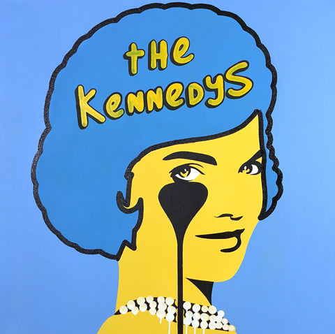 THE KENNEDYS SIMPSONS MASHUP<br>(DRIPPING PEARL NECKLACE)