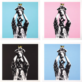 Vandal King<br>Set of 4<br>Printer's Proofs