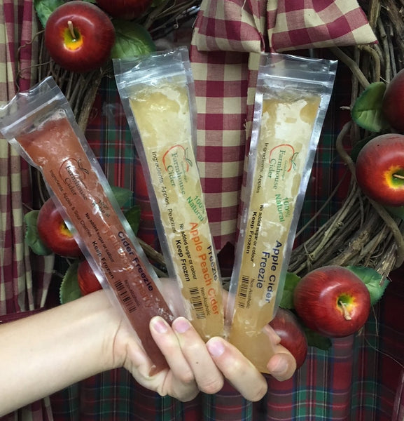 Natural Cider Freezies!