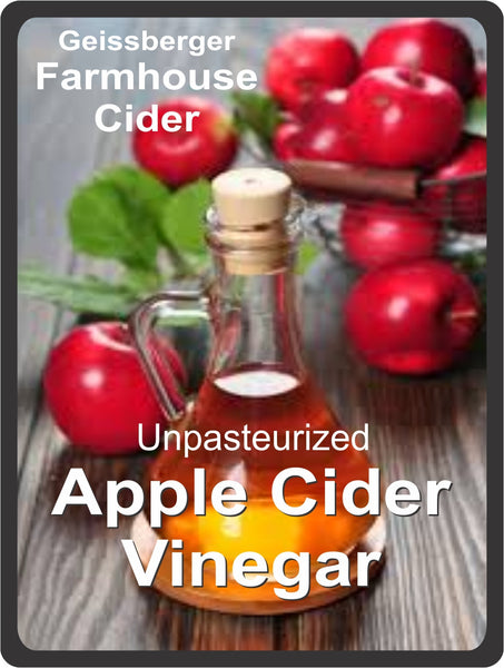 Apple Cider Vinegar Unpasteurized