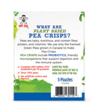 MUM-MUM SNAX PEA CRISPS MIXED BERRIES - 6 BOXES