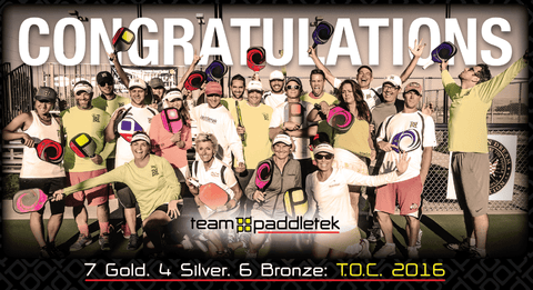 Team Paddletek Wins Big at Tournament of Champions
