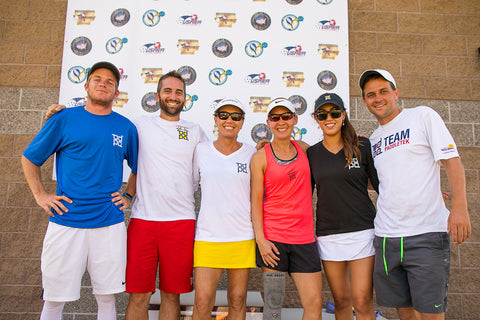 Team Paddletek Pros European Tour with Professional Pickleball Federation