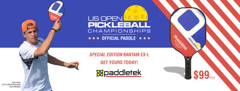 Kyle Yates and his Bantam EX-L to compete in the US Open Pickleball Championships