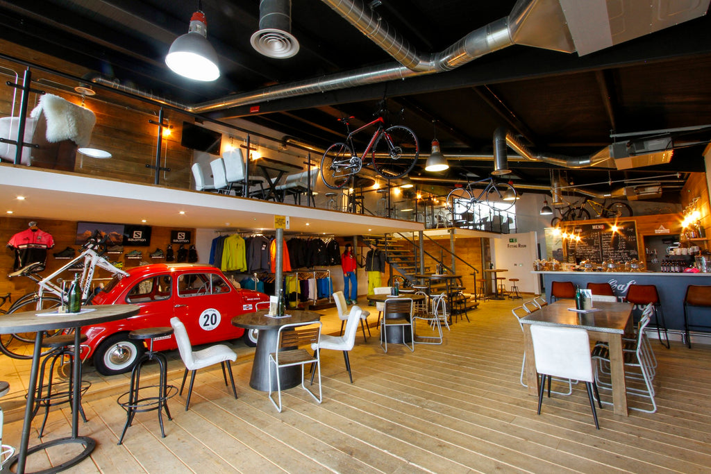 10 of the best UK Cycling Cafés