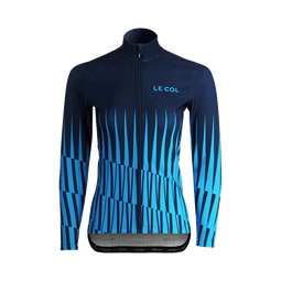 WOMENS AQUA ZERO LS JERSEY NAVY/ICE BLUE