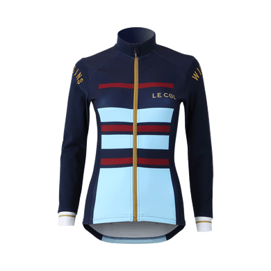 Womens Le Col By Wiggins Pro Aqua Zero Nation Long Sleeve Jersey