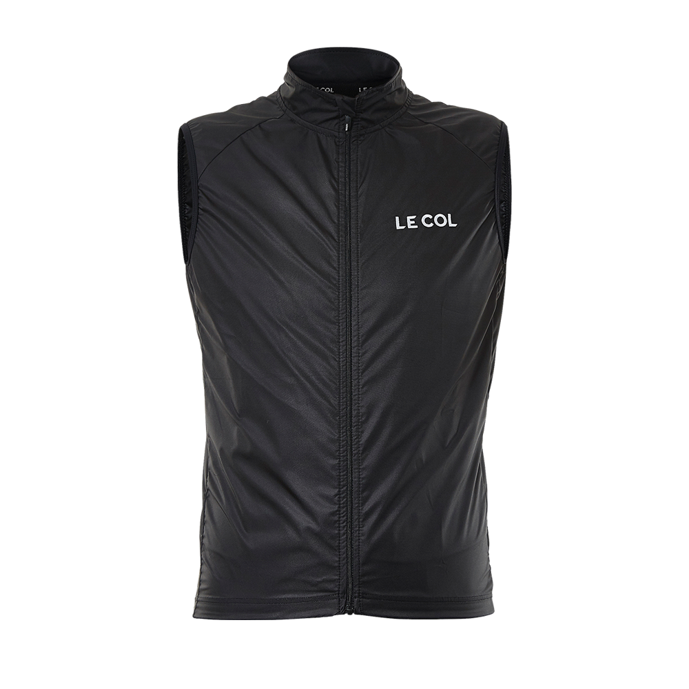 Le Col Sport Soft Shell Gilet | https://cdn.shopify.com/s/files/1/1096/9584/products/MENS_GILET_NERO_BACK.png?v=1587051761