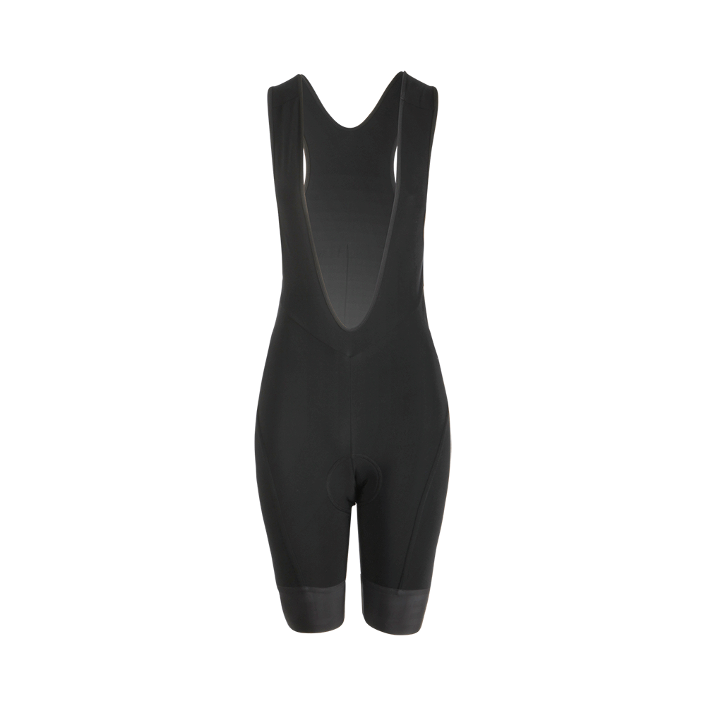 Womens Pro Blackout Therma Bib Shorts – Le Col 84cb0baa2