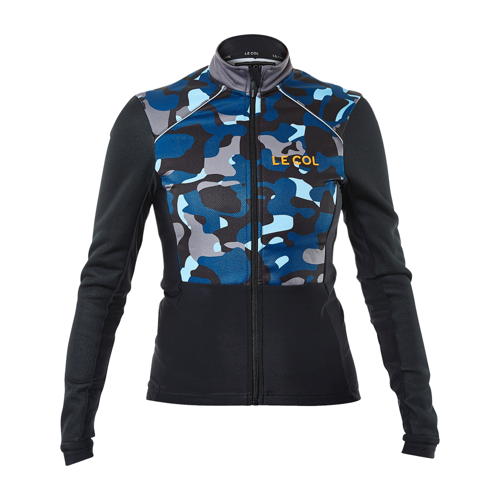 WOMENS SPORT JACKET BLU CAMO/NERO