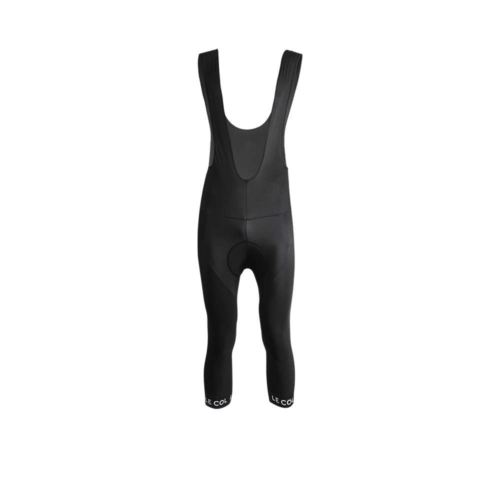 Pro 3/4 Bib Tights - Black