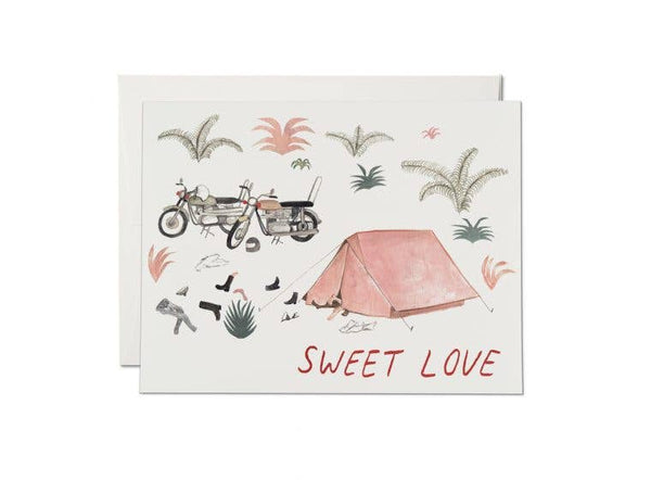 Sweet Love Motorcycle Card