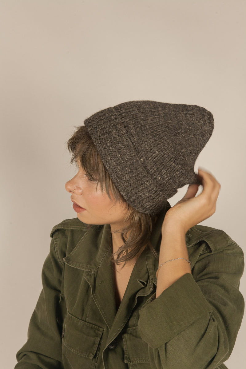 Abigail Hat in Dark Grey