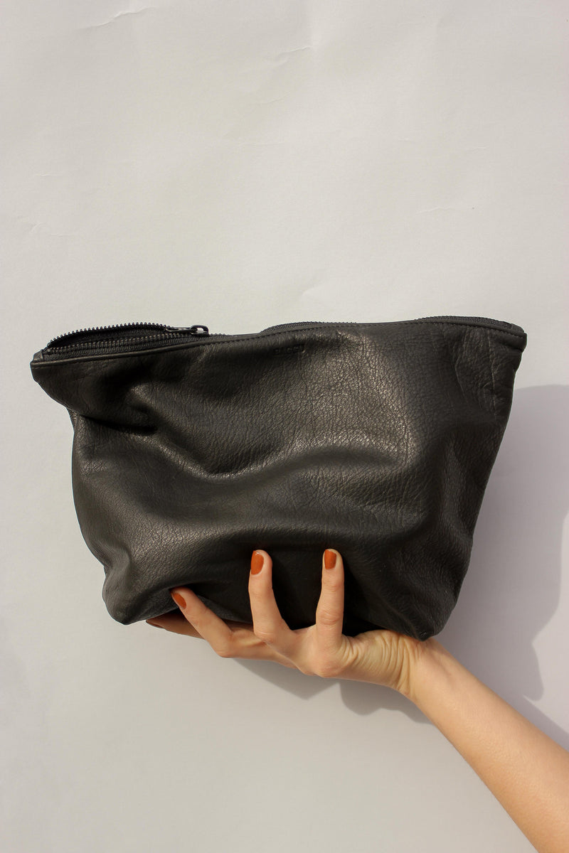 Large Stash Clutch in Black