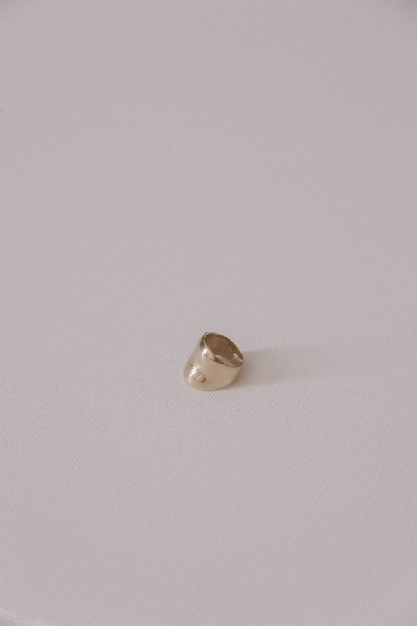 Faris Pinky Dip Ring in Bronze