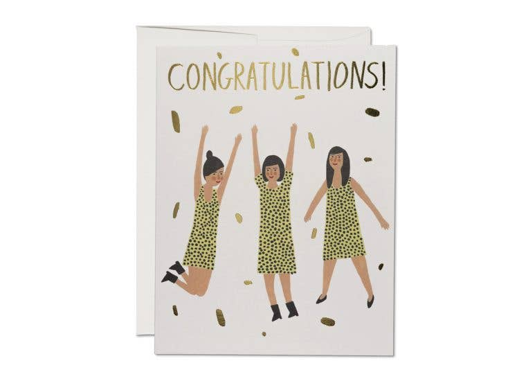 3 Ladies Congrats Card