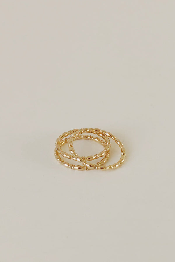 Bamboo Stacking Ring