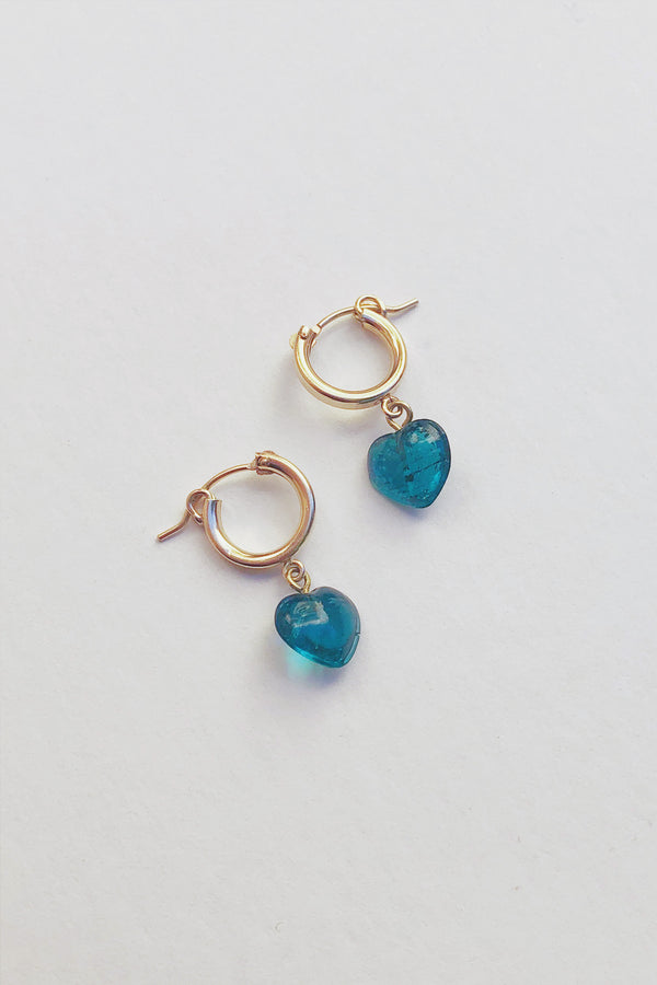 Blue L'Amour Hoops