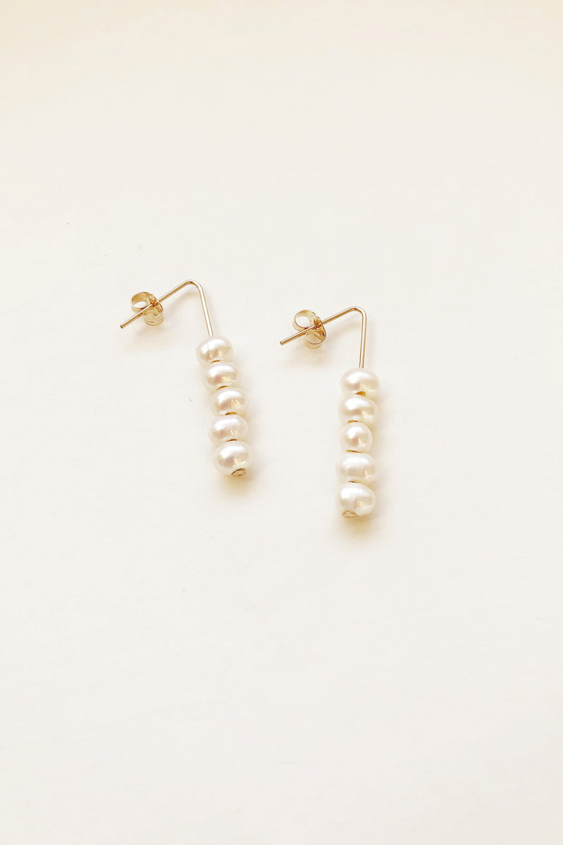 Choux Pearl Earrings