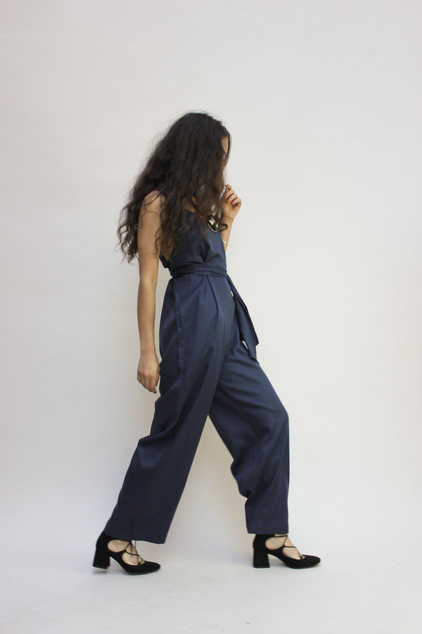 The Jumpsuit in Indigo